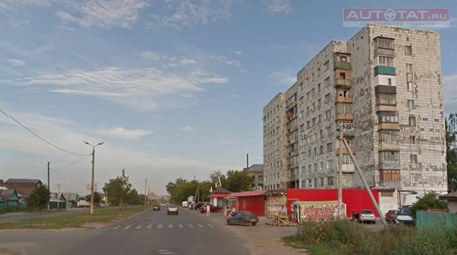 ВКазани автоледи на«Мерседесе» сбила школьницу напешеходном переходе