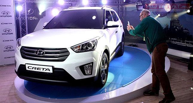 Hyundai рассекретил комплектации компактного кроссовера Creta