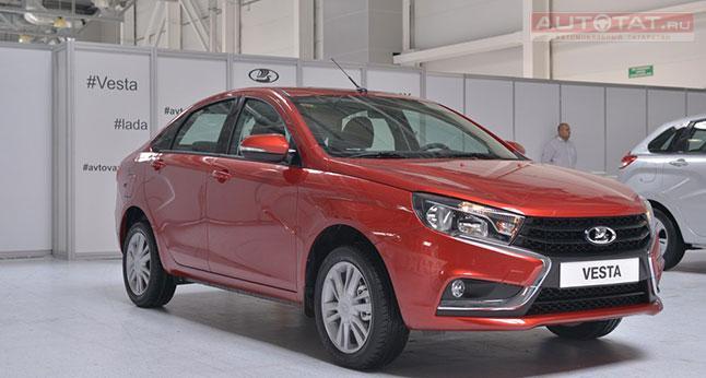 Глава АвтоВАЗа запретил дилерам делать скидки на Lada Vesta