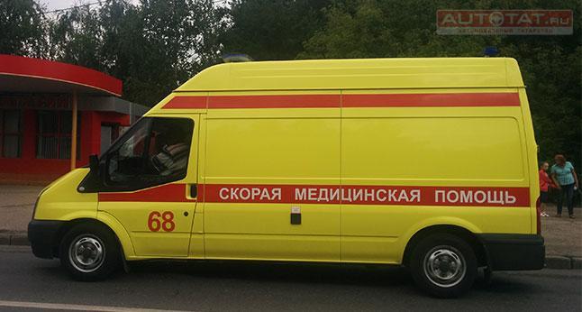 ВКазани Фольксваген Tiguan сбил 3-летнюю девочку