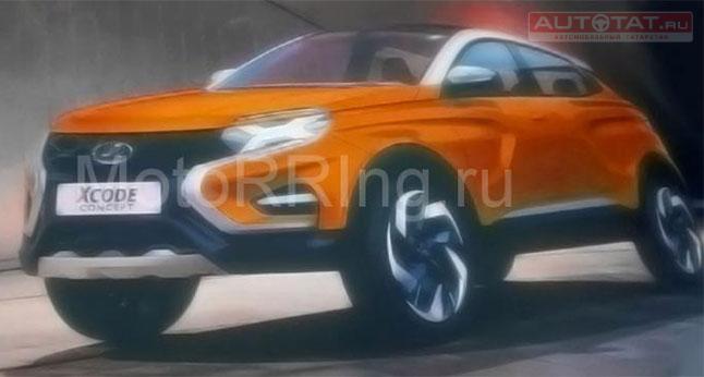 «АвтоВАЗ» продемонстрировал изображение неведомой модели