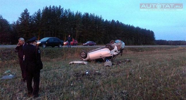 ВТатарстане врезультате происшествия надороге погибли два человека
