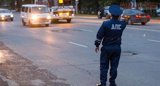ВТатарстане нетрезвый шофёр напал нагаишника спистолетом