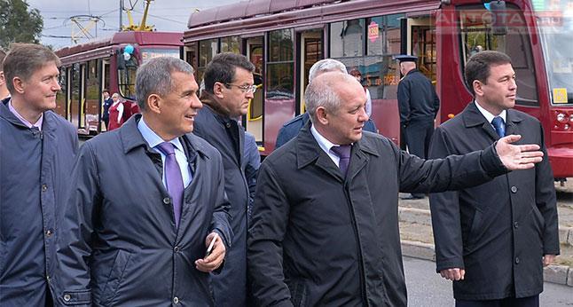 Казань доконца года на100% обновит парк трамваев итроллейбусов