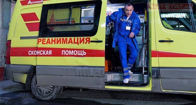 ВКазани нетрезвый шофёр за10 мин. устроил два ДТП