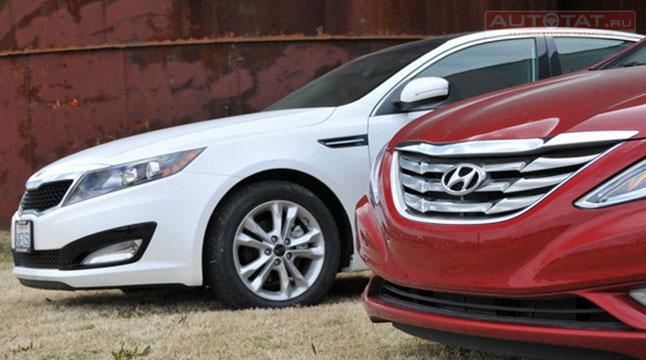 Киа и Хёндай подняли рублевые цены насвои автомобили