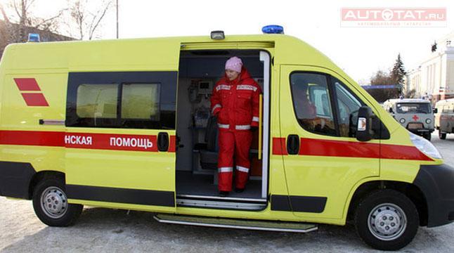 ВКазани девятнадцатилетний шофёр Мазда сбил 3-х пешеходов