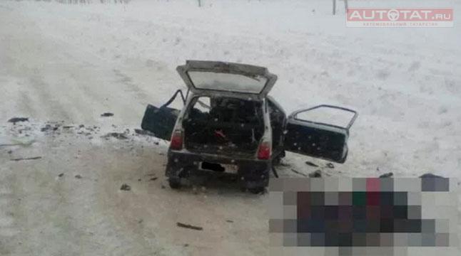 ВТатарстане натрассе случилось смертельное ДТП