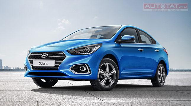 Объявлены цены на новый Hyundai Solaris