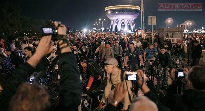 Казанскую «Велоночь» отменили «понезависящим оторганизаторов причинам»
