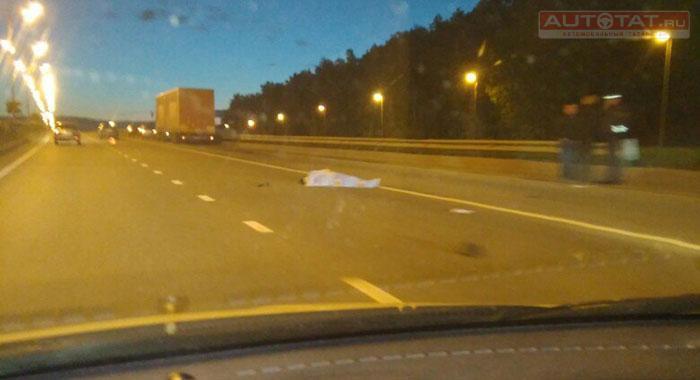 ВКазани иностранная машина сбила пешехода насмерть