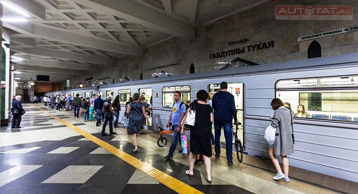 Казанцы смогут привиться отгриппа устанций метро