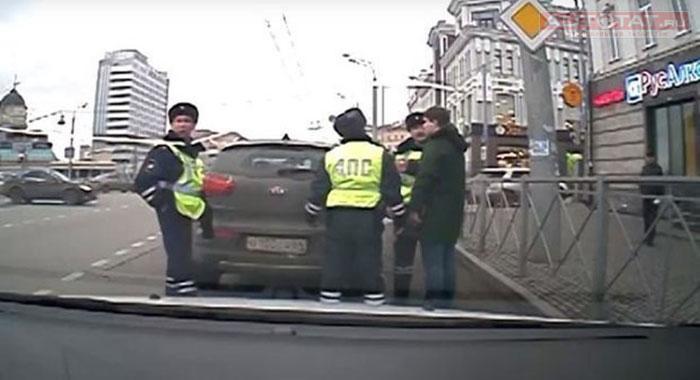 Казанский суд признал виновным военного следователя Пилипенко, наехавшего наинспектора ГИБДД