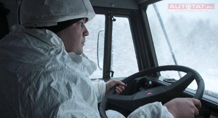 Татарстанский вездеход «КАМАЗ-Арктика» испытают накрайнем севере