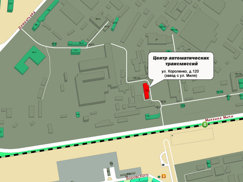 Центр автоматических трансмиссий.  Автодром KAZANRING. ул. Короленко, д.120 (заезд с ул. Миля).  Адрес.
