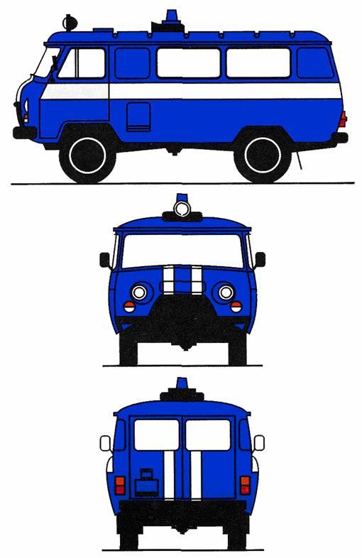 схемы автомобилей службы