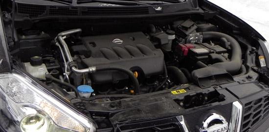 Недорогой премиум-класс - Ниссан Кашкай двигатель 1.6 описание.