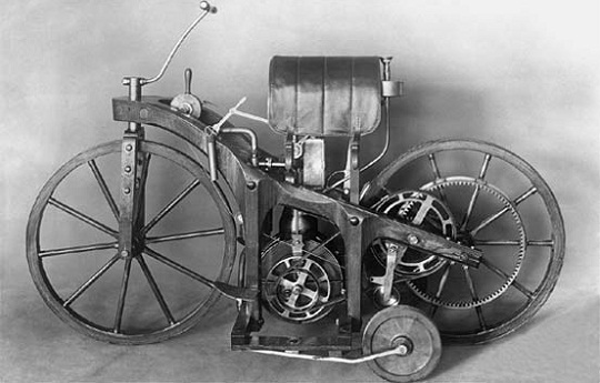 Картинки по запросу 1885 мотоцикл даймлер