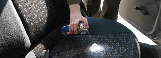Как очистить сиденья автомобиля своими руками от пятен и пыли 15
